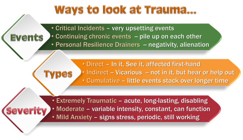 effect of traumatic life events on Trauma symptoms, causes and effects trauma is defined by the american psychological association (apa) as the emotional response someone has to an extremely negative event while trauma is a normal reaction to a horrible event, the effects can be so severe that they interfere with an individual's ability to live a normal life.