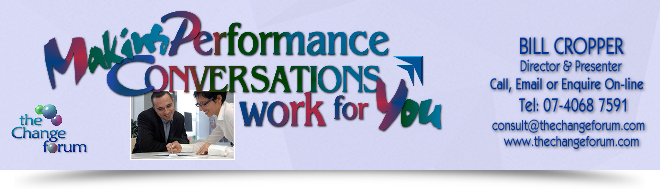 Making Performance Conversations work for You... helping Staff engage better with performance appraisal conversations